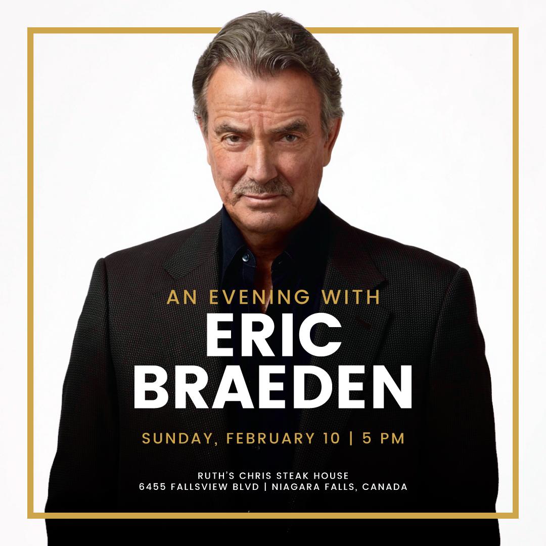 Evening with Eric Braeden