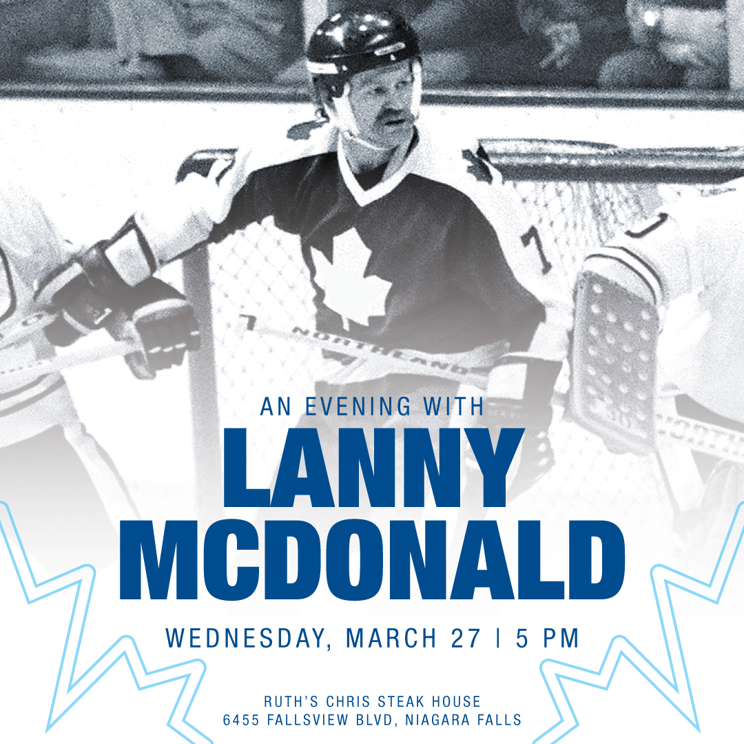 Evening with Lanny McDonald