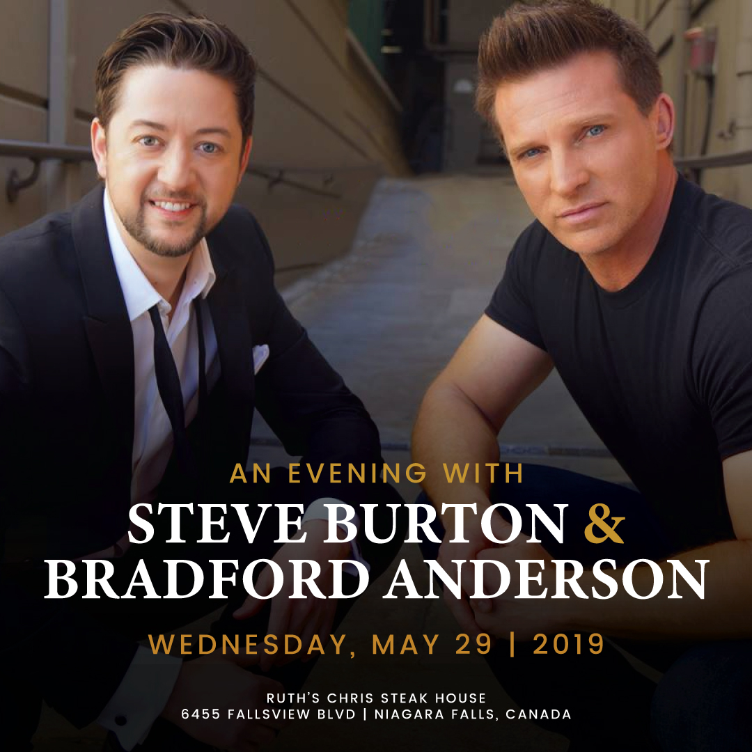Evening with Steve Burton & Bradford Anderson