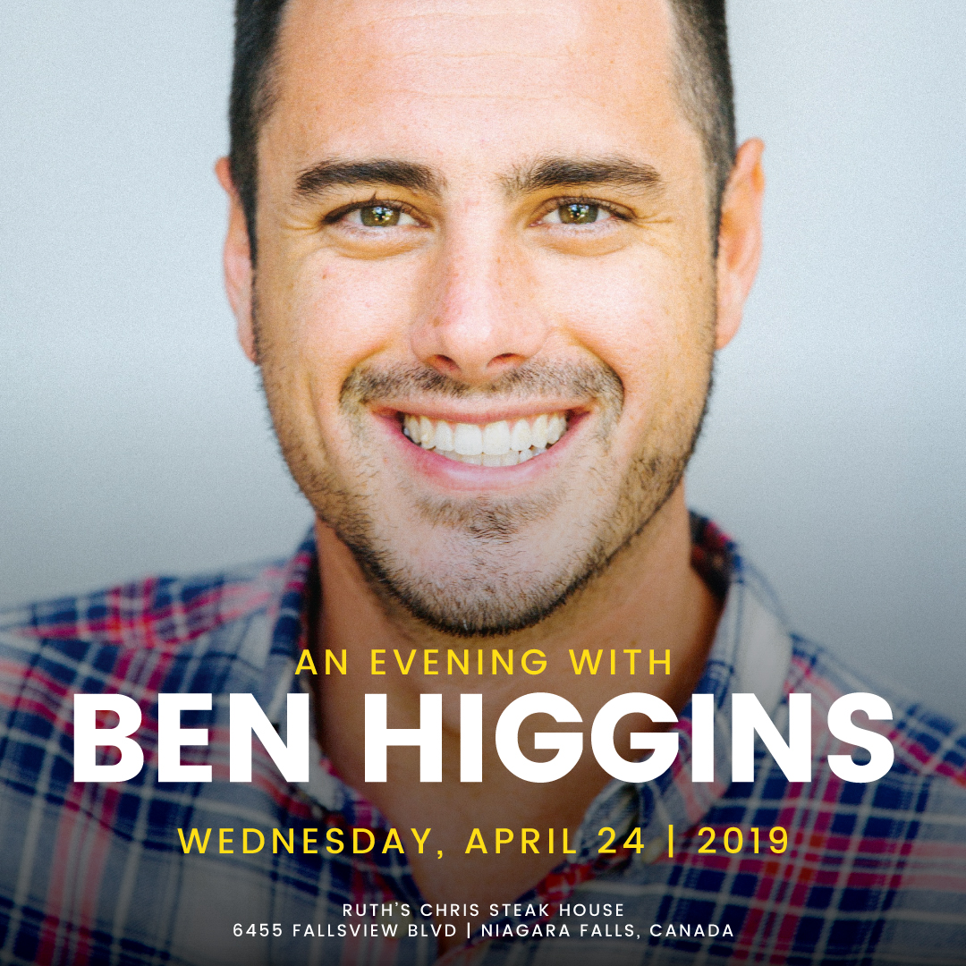 Evening with Ben Higgins