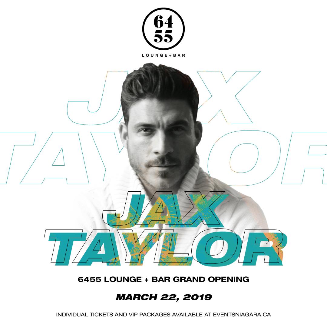 6455 Lounge + Bar Presents Jax Taylor